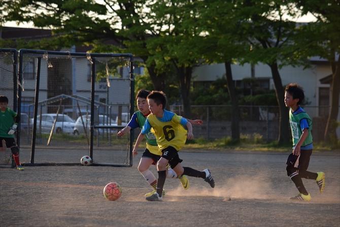 仁井田レッドスターズの練習風景6
