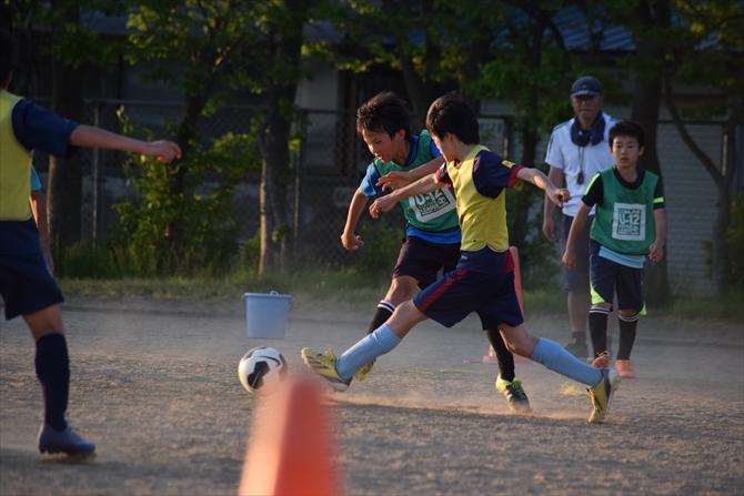 仁井田レッドスターズの練習風景5
