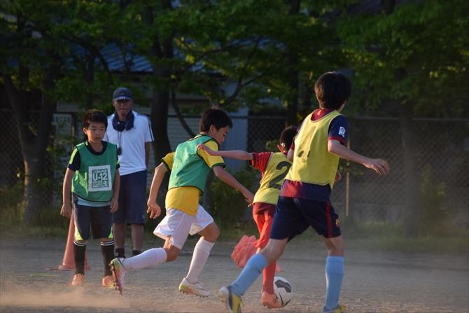 仁井田レッドスターズの練習風景4